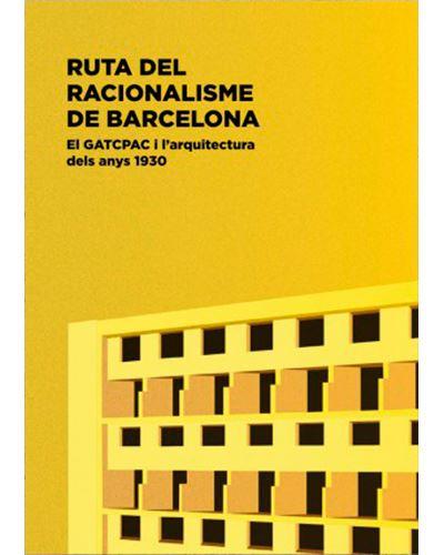Portada del llibre Ruta del racionalisme de Barcelona