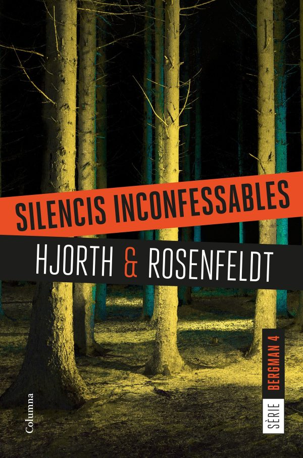 Portada de la novel·la Silencis inconfessables de Hjorth and Rosenfeldt