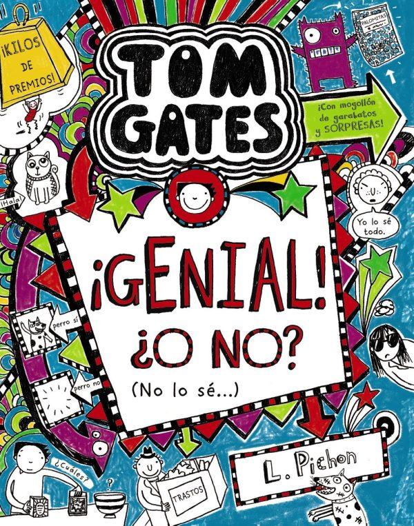 Portada del llibre infantil Tom Gates. ¡Genial! ¿O no? (No lo sé...) de Liz Pichon