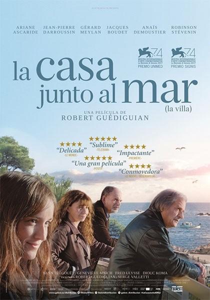 Cartell de la pel·lícula La casa junto al mar