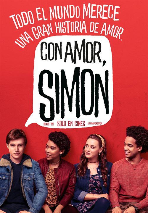 Cartell de la pel·lícula Con amor, Simón