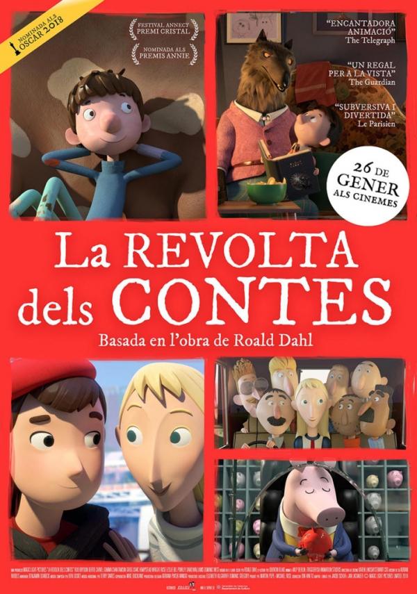 Cartell de la pel·lícula infantil La revolta dels contes