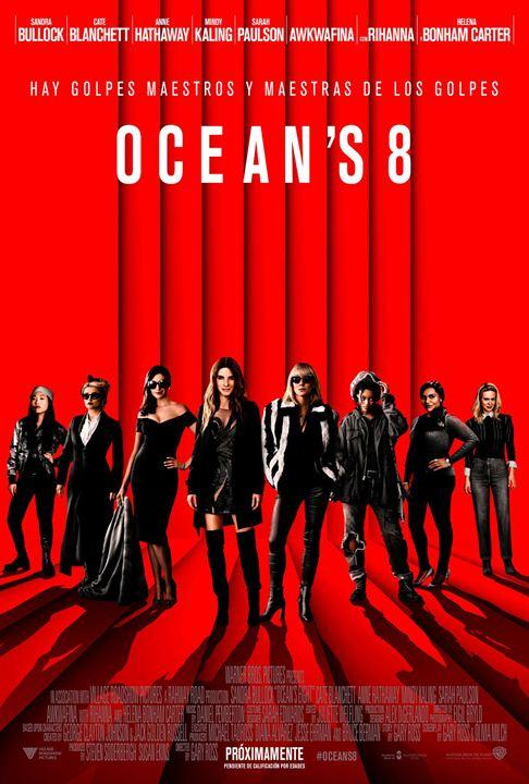 Cartell de la pel·lícula Ocean's 8