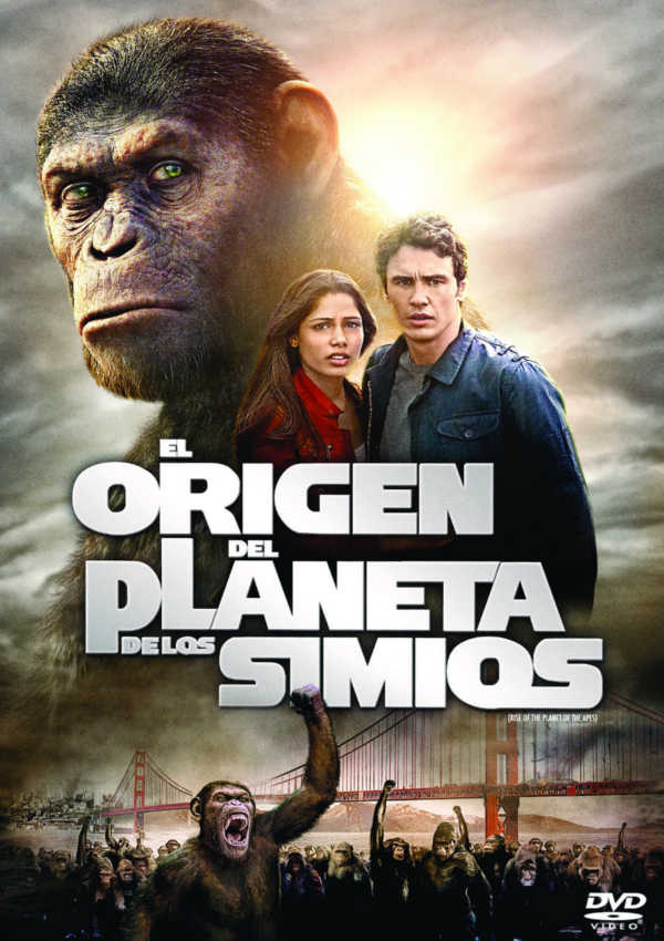 Cartell de la pel·lícula El origen del planeta de los simios