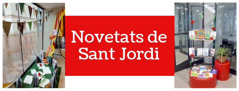Imatge amb les novetats de Sant Jordi