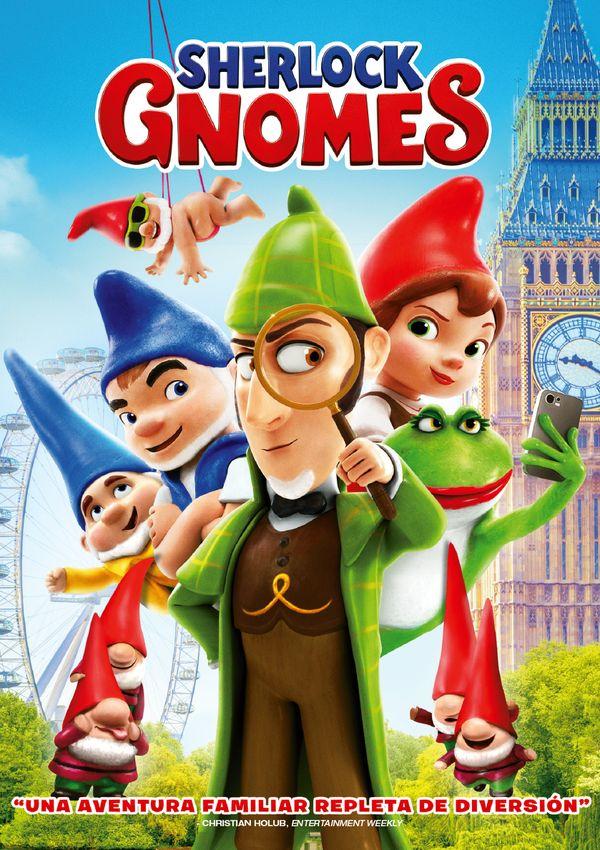 Cartell de la pel·lícula infantil Sherlock Gnomes