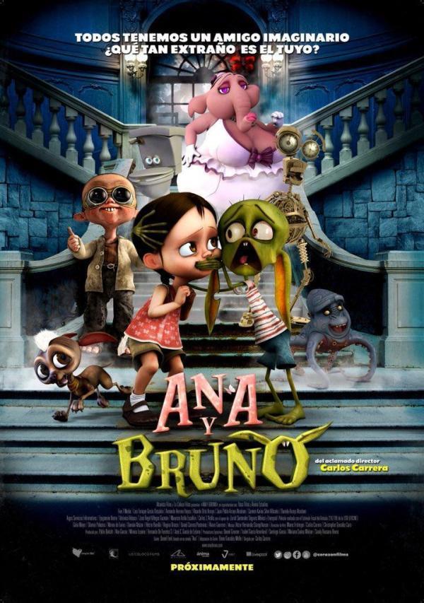 Imatge del cartell de la pel·lícula Ana y Bruno