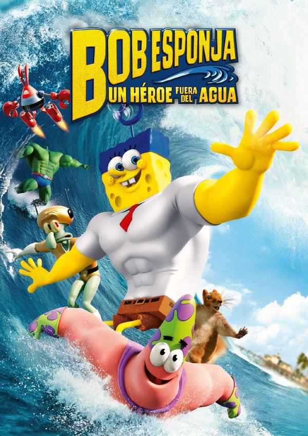 Imatge del cartell de la pel·lícula Bob Esponja un héroe fuera del agua