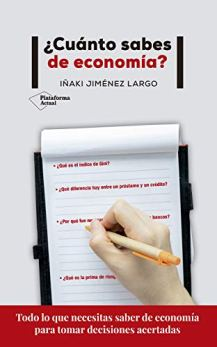 Portada del llibre ¿Cuánto sabes de economía?