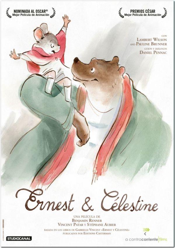 Imatge del cartell de la pel·lícula Ernest & Célestine