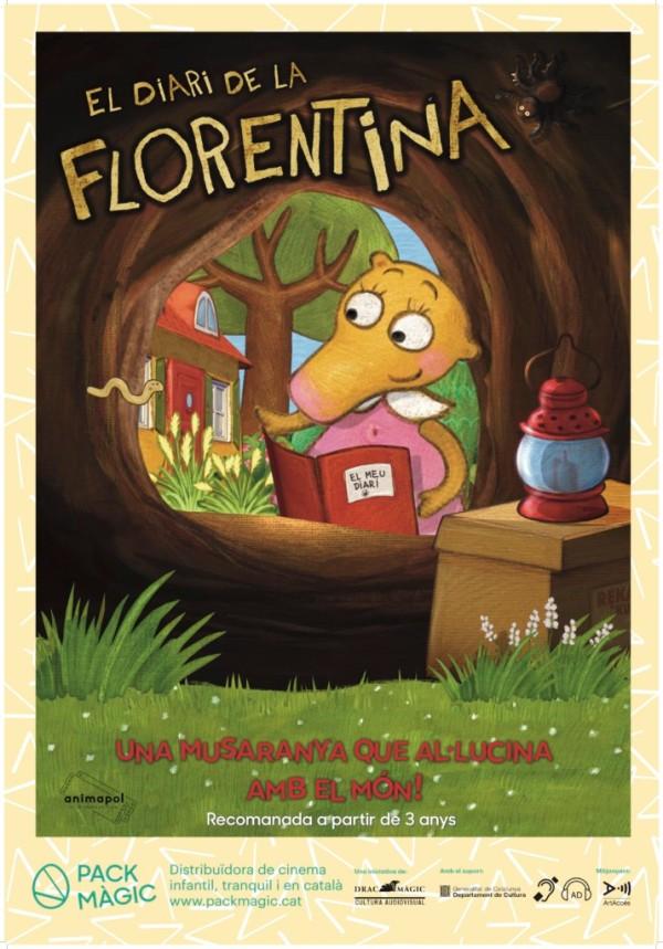Imatge del cartell de la pel·lícula El diari de la Florentina