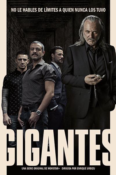 Imatge del cartell de la sèrie Gigantes