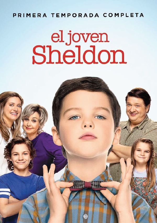Imatge del cartell de la sèrie El joven Sheldon
