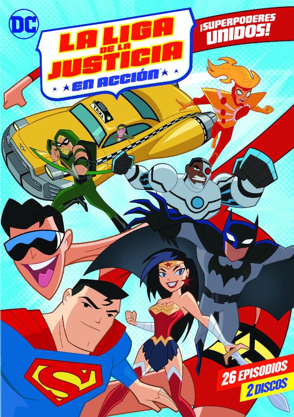 Imatge del cartell de la pel·lícula La Liga de la justicia en acción