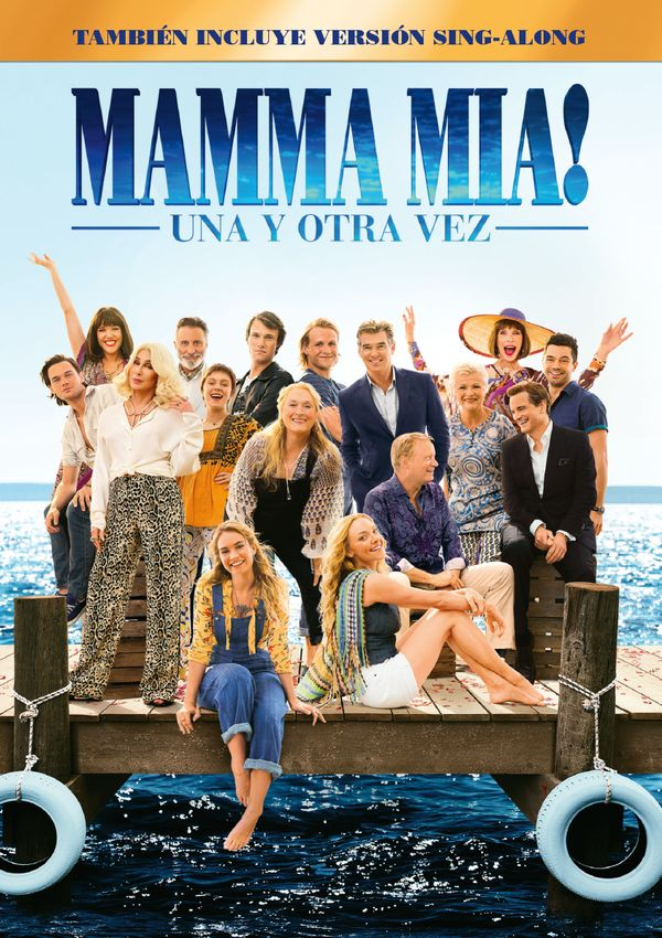 Imatge del cartell de la pel·lícula Mamma mia! Una y otra vez
