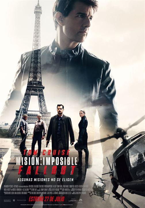 Imatge del cartell de la pel·lícula Misión: imposible. Fallout
