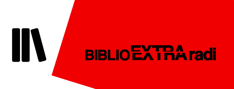 Imatge de llibres amb el text BiblioExtraradi
