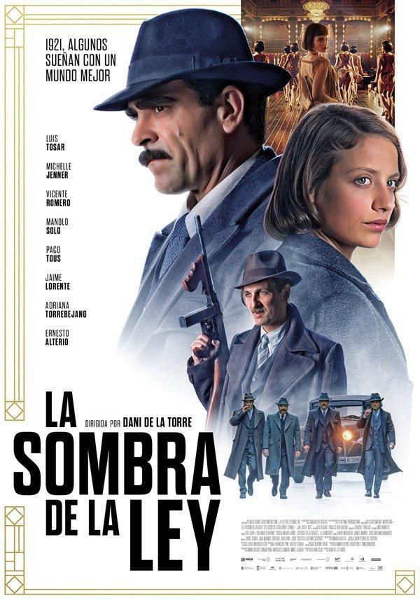 Imatge del cartell de la pel·lícula La sombra de la ley