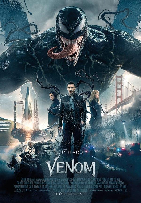 Imatge del cartell de la pel·lícula Venom