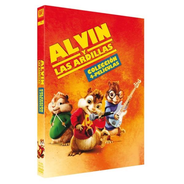 Imatge del cartell de les pel·lícules Alvin y las ardillas