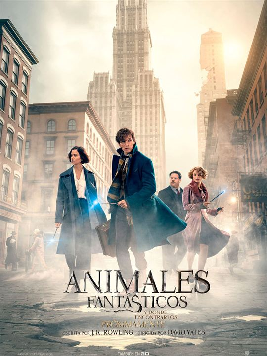 Imatge del cartell de la pel·lícula Animales fantásticos y dónde encontrarlos
