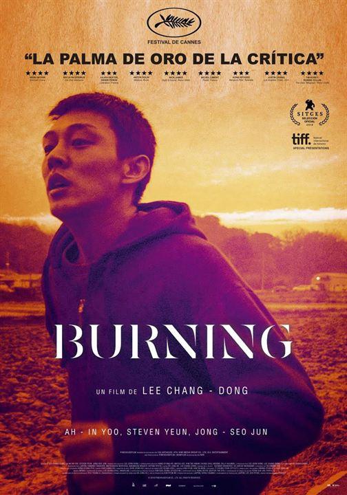 Imatge del cartell de la pel·lícula Burning