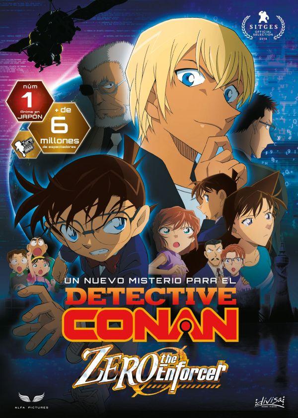 Imatge del cartell de la pel·lícula Detective Conan Zero the enforcer