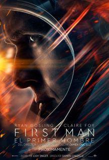 Imatge del cartell de la pel·lícula First man