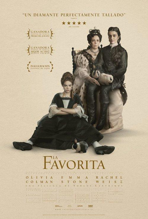 Imatge del cartell de la pel·lícula La favorita