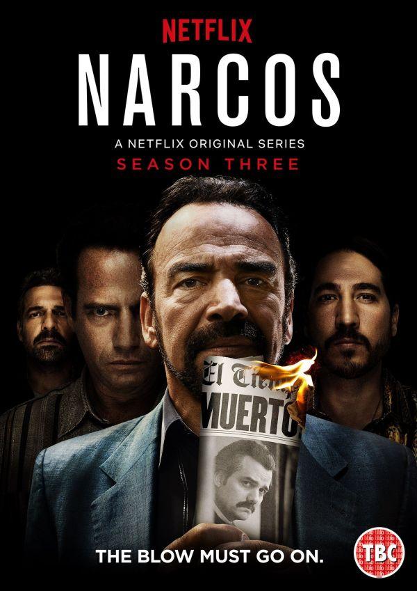 Imatge del cartell de la sèrie Narcos Temporada 3