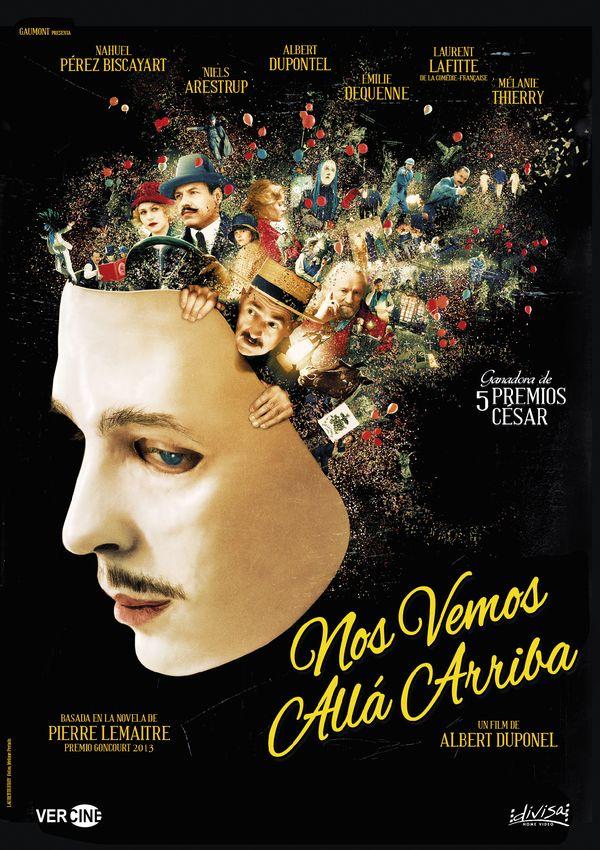 Imatge del cartell de la pel·lícula Nos vemos allá arriba