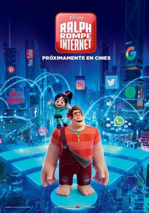 Imatge del cartell de la pel·lícula Ralph rompe Internet