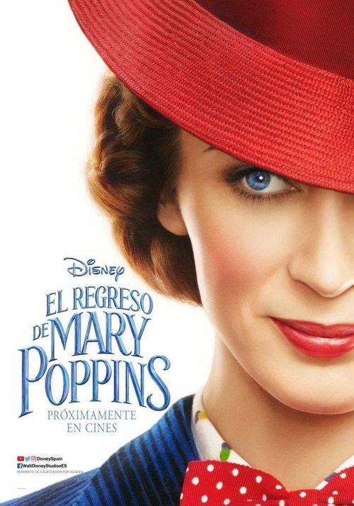 Imatge del cartell de la pel·lícula El regreso de Mary Poppins