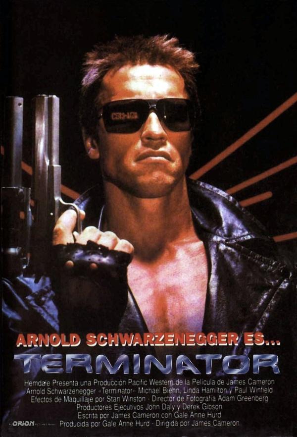 Imatge del cartell de la pel·lícula Terminator