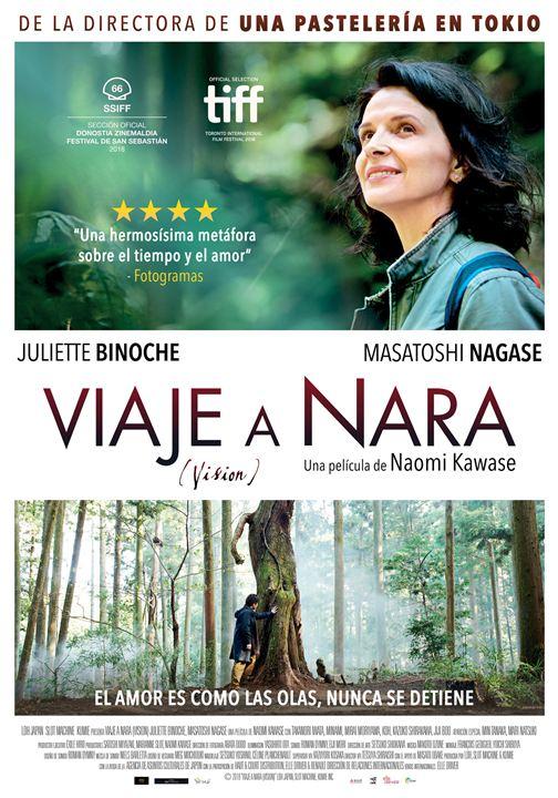 Imatge del cartell de la pel·lícula Viaje a Nara