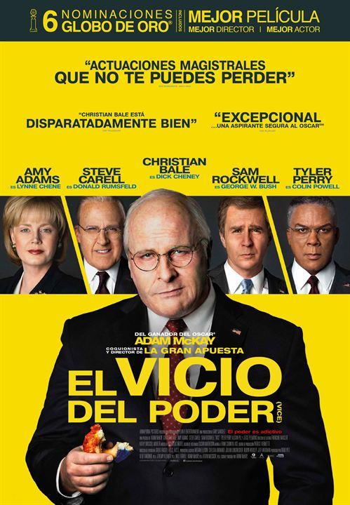Imatge del cartell de la pel·lícula El vicio del poder