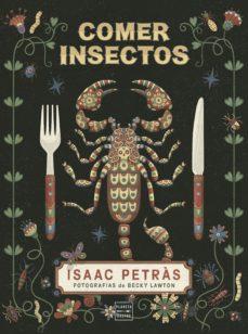 Portada del llibre Comer insectos