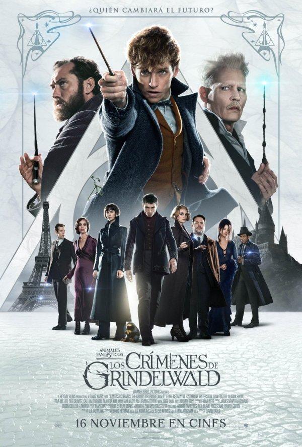 Imatge del cartell de la pel·lícula Animales fantásticos. Los crímenes de Grindewald