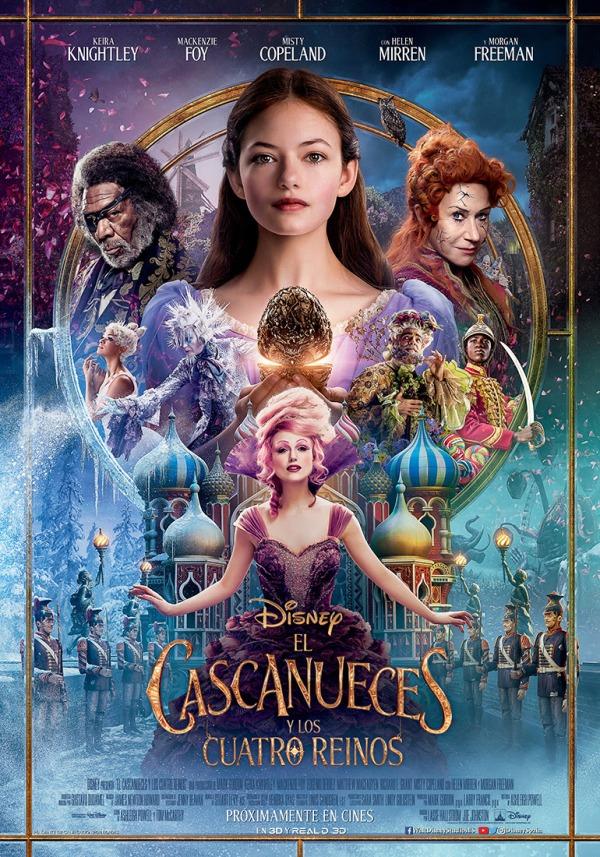 Imatge del cartell de la pel·lícula El cascanueces y los cuatro reinos