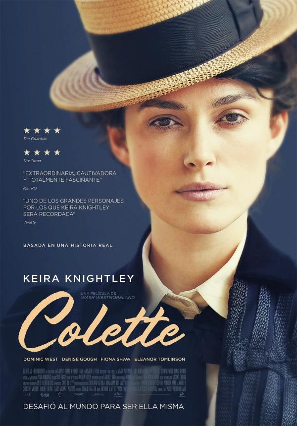 Imatge del cartell de la pel·lícula Colette