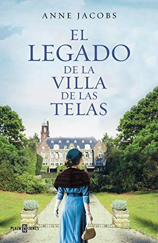 Portada de la novel·la El legado de la villa de las telas d'Anne Jacobs