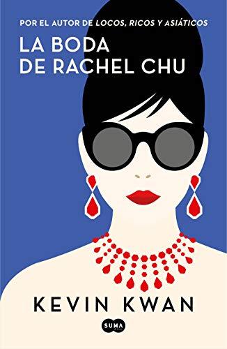 Portada de la novel·la La boda de Rachel Chu