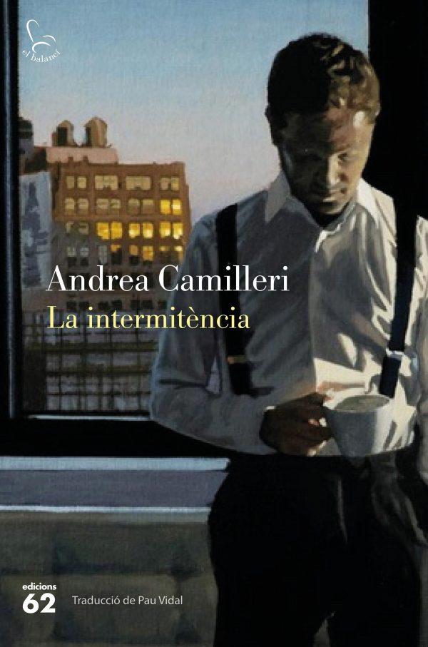 Portada de la novel·la La intermitència d'Andrea Camilleri