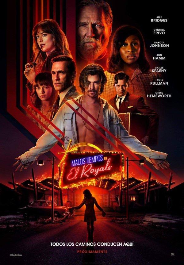 Imatge del cartell de la pel·lícula Malos tiempos en El Royale