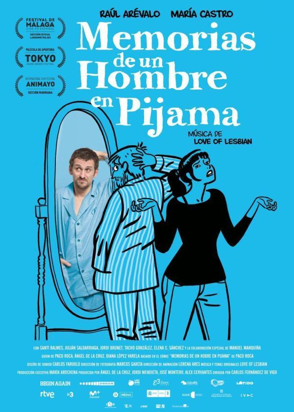 Imatge del cartell de la pel·lícula Memorias de un hombre en pijama