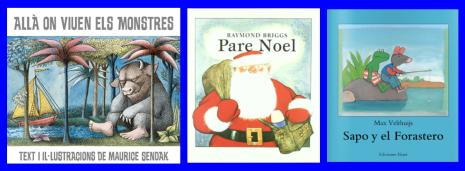 Imatges de les portades dels llibres infantils ressenyats