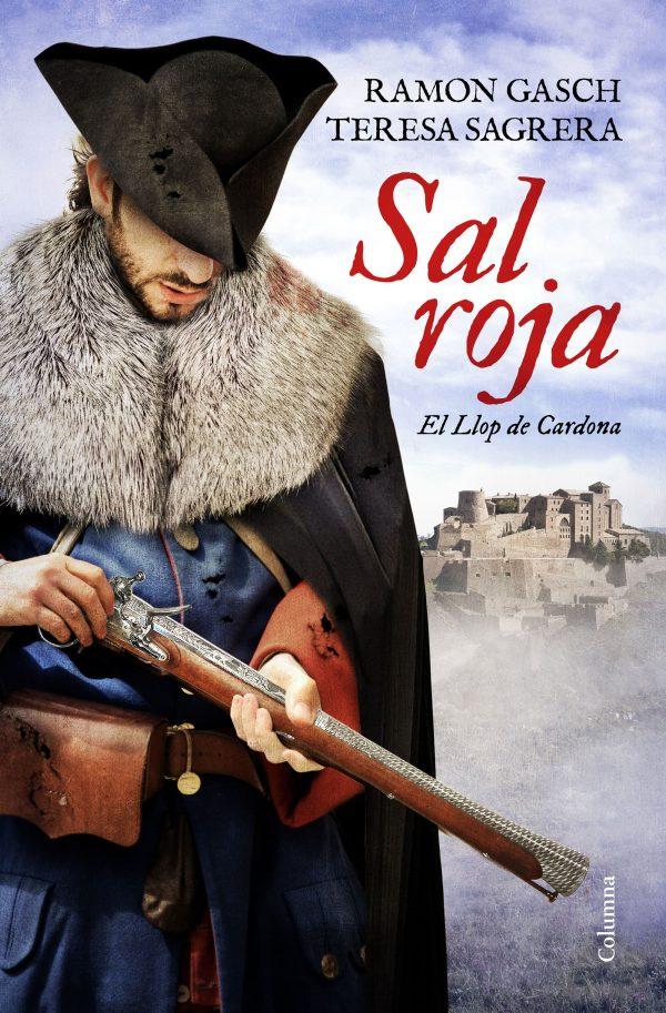 Portada de la novel·la Sal roja de Ramon Gasch i Teresa Sagrera