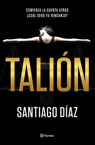 Portada de la novel·la Talión de Santiago Díaz