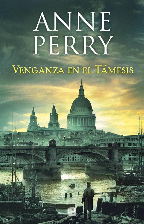 Portada de la novel·la Venganza en el Támesis d'Anne Perry