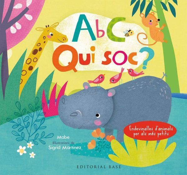 Portada del llibre infantil ABC Qui soc?